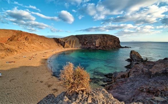 Lanzarote-natural-beach